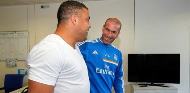 Francês assumiu como técnico do Real Madrid. Brasileiro demonstra otimismo