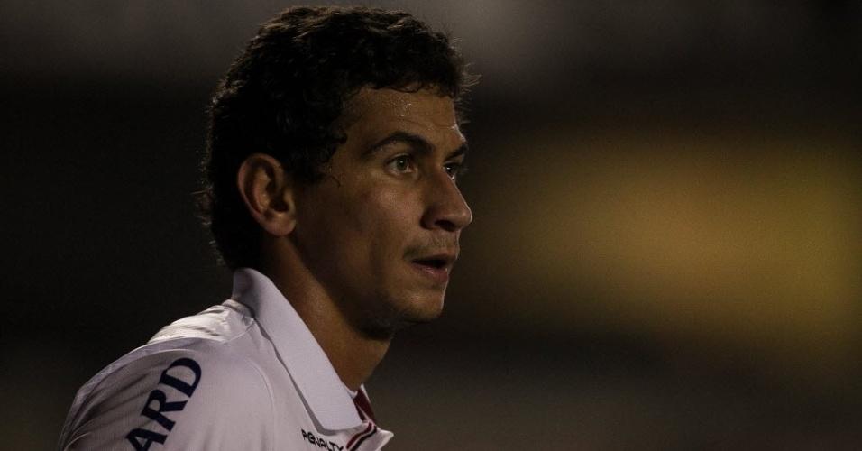 26.set.2013 - Paulo Henrique Ganso durante partida do São Paulo contra a Universidad Católica