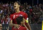 Taiti humilha Argentina e vai às semis do Mundial; Brasil também avança - AFP PHOTO / GREGORY BOISSY