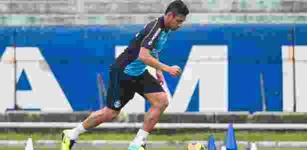 Werley treina forte enquanto aguarda oportunidade para integrar equipe de Roger Machado - Vinícius Costa/Agência Preview