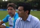 """Mesmo cartola """"criou"""" e une Grêmio e Chape, que duelam para seguir na ponta - Vitor Rodriguez/Grêmio FBPA"""