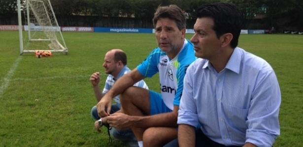 Rui Costa ficou pouco mais de três anos no Grêmio e está na Chape desde dezembro