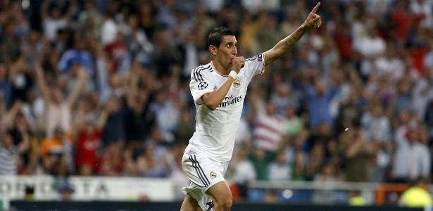 Di Maria quando ainda jogava no Real Madrid: vontade de voltar ao clubem, segundo Marca  - REUTERS/Juan Medina