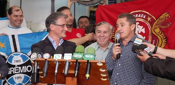 Presidente da Federação Gaúcha de Futebol, Francisco Noveletto, não conseguiu apoio de federações