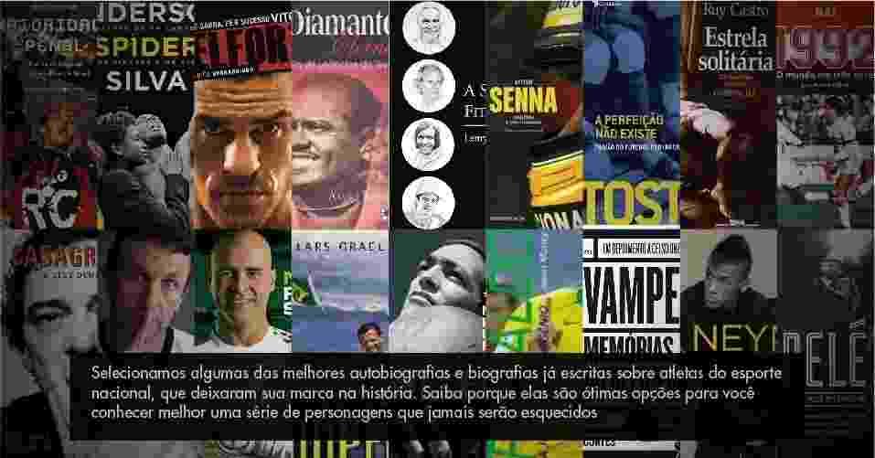 Especial Biografias Esportistas - Montagem/UOL