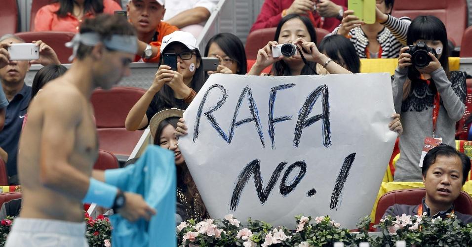 06.10.2013 - Apesar da derrota no ATP 500 de Pequim, Nadal volta a ser número 1 do mundo