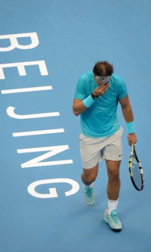 06.10.2013 - Nadal lamenta derrota para Djokovic no ATP 500 de Pequim
