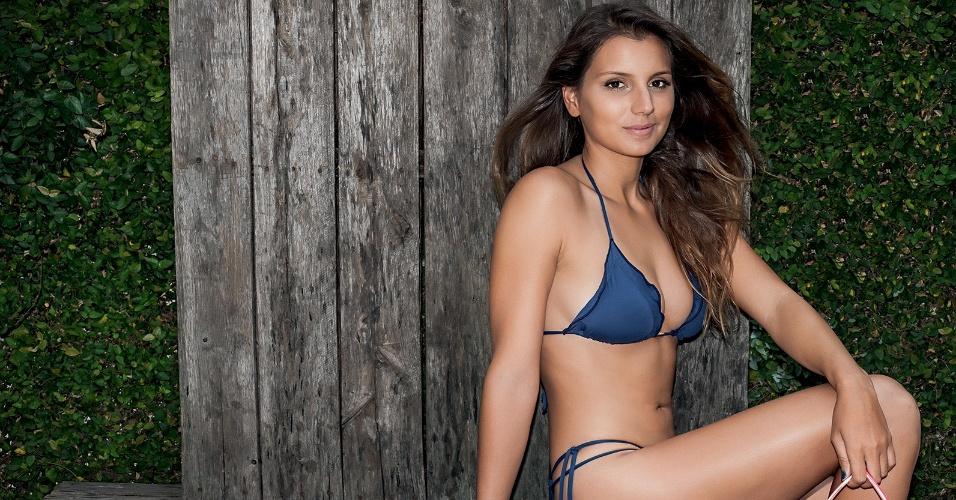 Maya Gabeira em ensaio para a Playboy