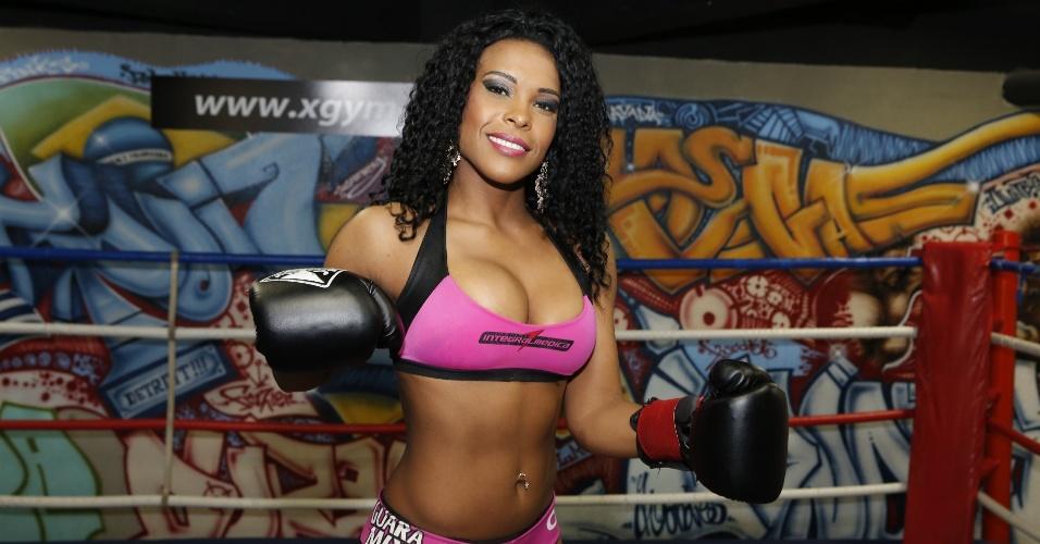 Solange será ring girl do Jungle Fight 59