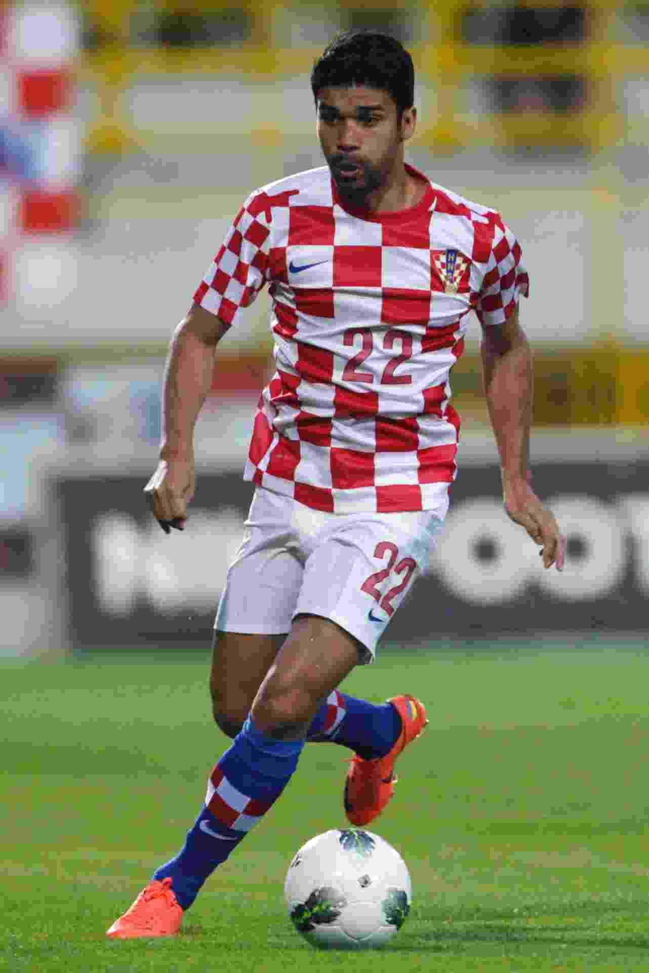 Eduardo da Silva: atacante nasceu no Rio de Janeiro (RJ) e joga pela seleção da Croácia - ANTONIO BRONIC / REUTERS