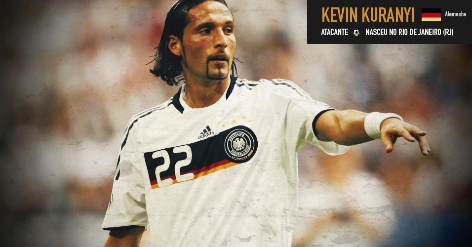 Kevin Kuranyi: atacante nasceu no Rio de Janeiro (RJ) e joga pela seleção da Alemanha