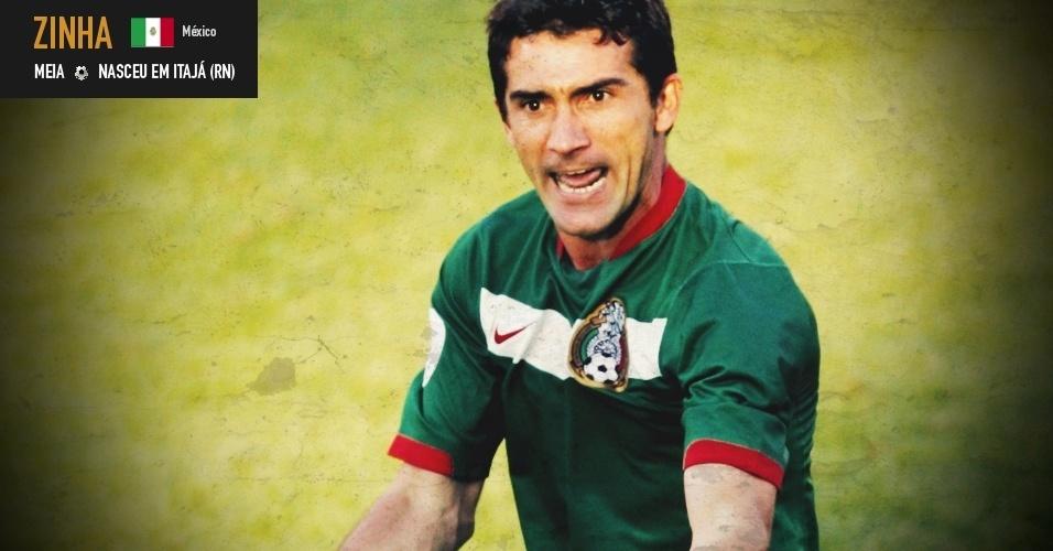 Zinha: meia nasceu em Itajá (RN) e joga pela seleção do México