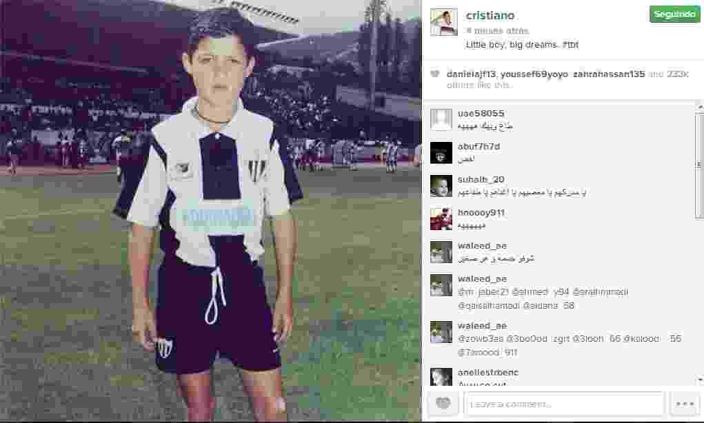 Cristiano Ronaldo - Reprodução/Instagram