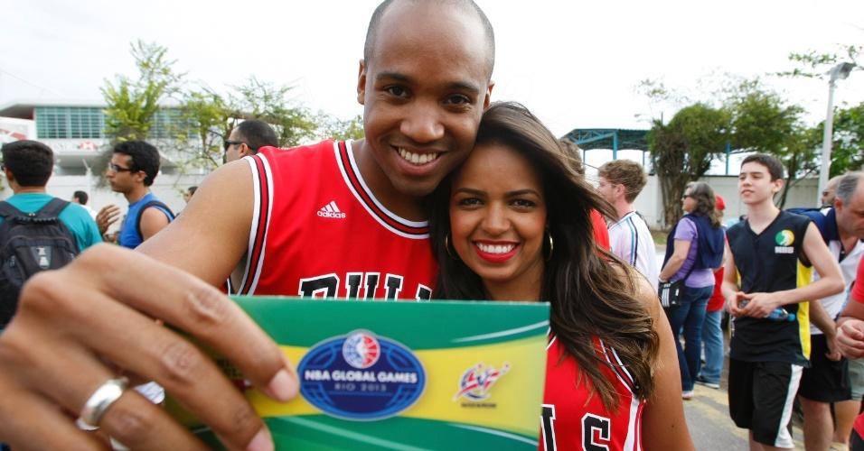 Chicago Bulls foi escolhido para disputar primeira partida da NBA no Brasil devido ao grande número de torcedores do time no país