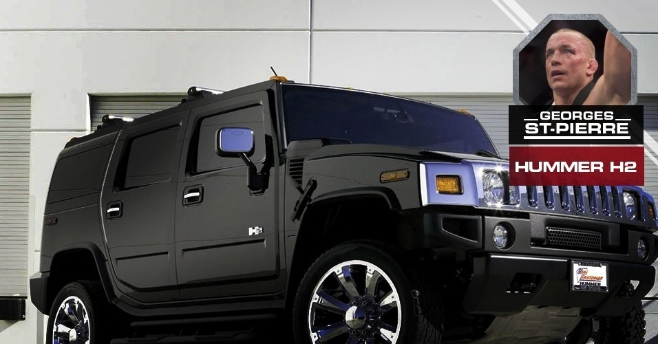 George St-Pierre - Hummer H2