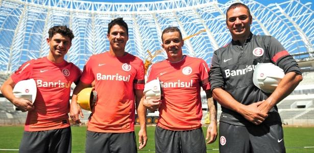 Jogadores do Inter voltarão aos trabalhos no interior do estádio, que tem 97% da obra concluída