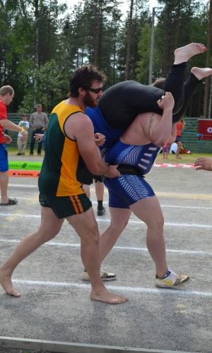 Casal gordinho também participa da disputa