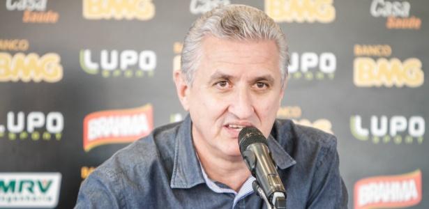 Diretor de futebol Eduardo Maluf deixa Atlético-MG mais forte nos bastidores - Bruno Cantini/Site oficial Atlético-MG