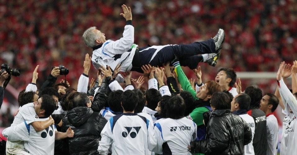 Nelsinho ganhou pelo Kashiwa o Japonês, Copa do Imperador e Supercopa do Japão