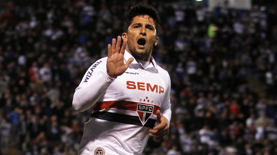 Aloisio atuou pela equipe de São Paulo no ano de 2013 - EFE/Felipe Trueba