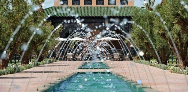Futura casa do Atlético-MG no Marrocos impõe pela beleza e detalhes em seus variados ambientes