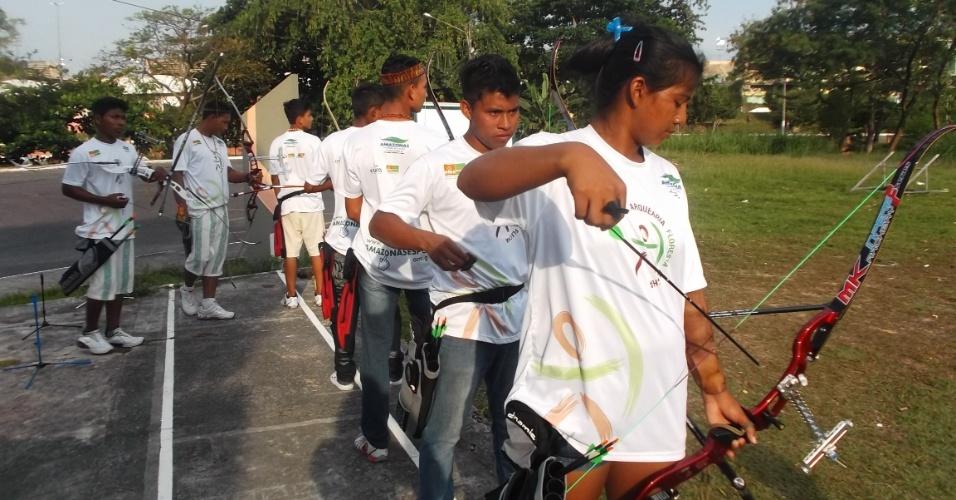 Índios fazem teste em Manaus por sonho de representar Brasil em 2016