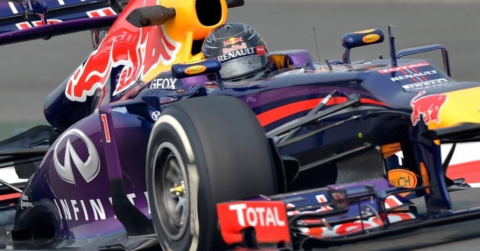 Sebastian Vettel pode se tornar campeão já na etapa na Índia