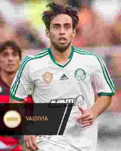 Valdivia jogou pouco, mas, quando jogou, fez a diferença. Por isso, seu status na equipe permanece o mesmo - Rodrigo Capote/UOL