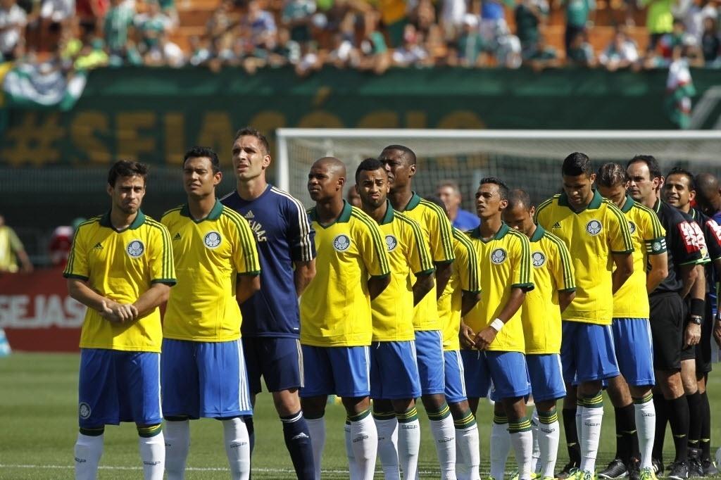 Palmeiras usará uniforme
