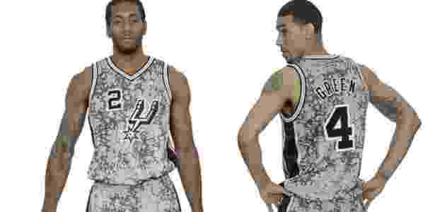 Jogador reprova uniforme camuflado lançado pelo San Antonio Spurs ... 571e4b96735c1