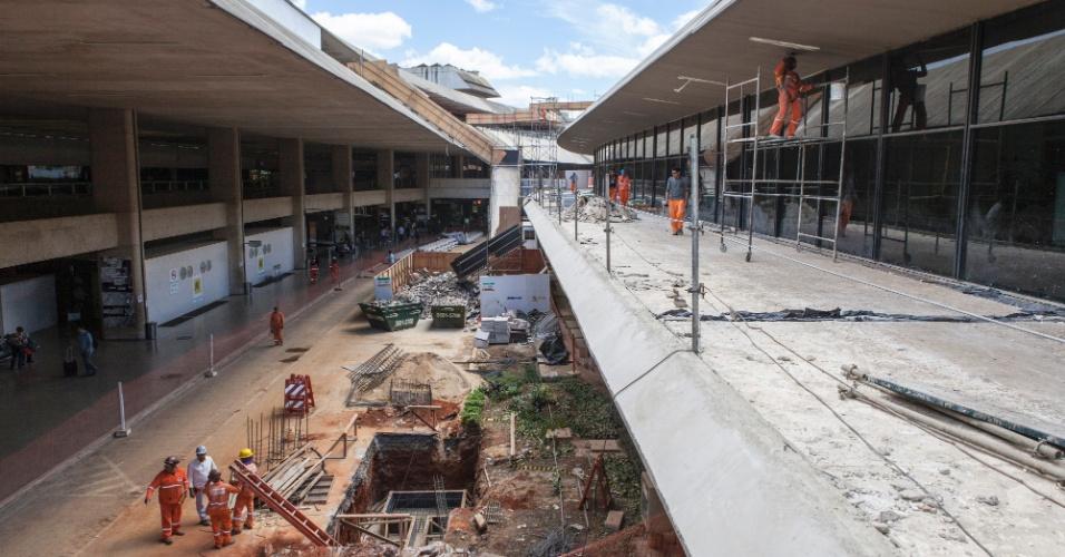 Belo Horizonte: reforma no aeroporto de Confins deve aumentar capacidade de 10 milhões de passageiros por anoa para 17,1 milhões