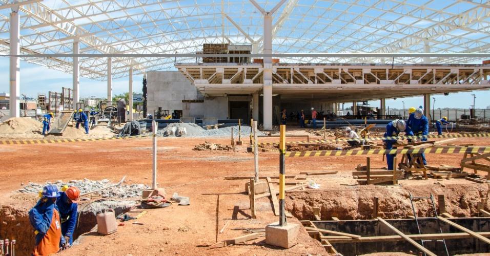 Cuiabá: Aeroporto da capital do Mato Grosso deve ter novo terminal de passageiros inaugurado em abril de 2014
