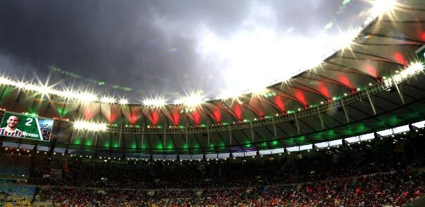 Palco da final, o Maracanã só terá quatro jogos ao mês até a Copa do Mundo