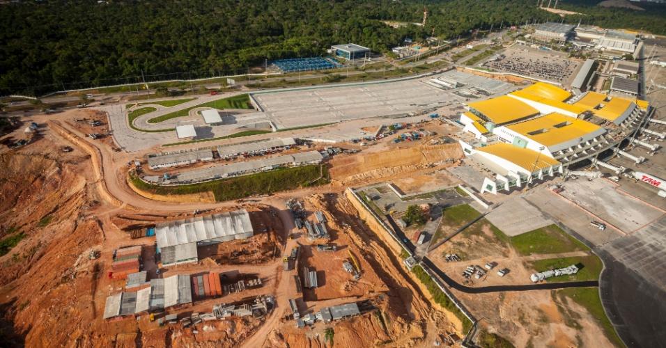 Manaus: Capacidade do aeroporto amazonense deve dobrar a partir de março de 2014, chegando a 13,5 milhões passageiros por ano