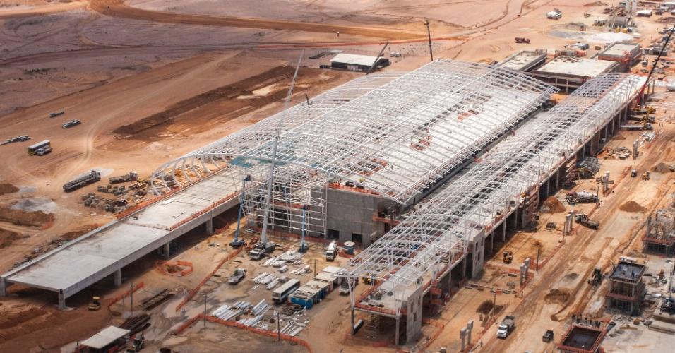 Natal: Governo pretende entregar aeroporto de São Gonçalo do Amarante até o fim de novembro de 2013