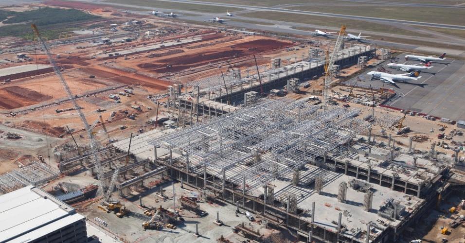 São Paulo: Aeroporto de Cumbica deverá ter um novo terminal de passageiros em 2014