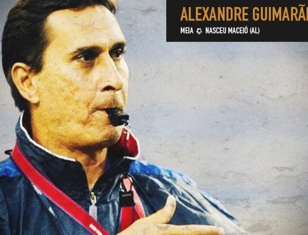Alexandre Guimarães nasceu em Alagoas e foi jogador e treinador da seleção da Costa Rica