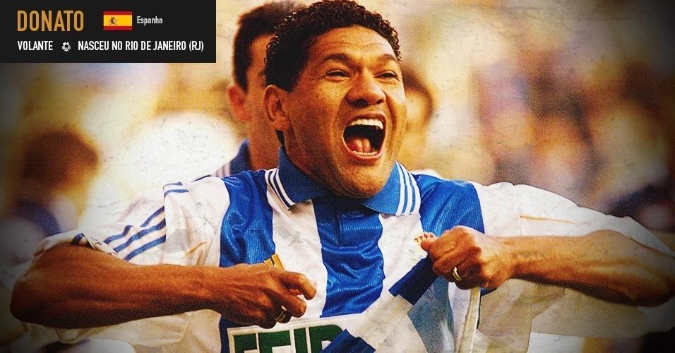 Donato: volante nasceu no Rio, mas chegou à seleção após se naturalizar espanhol