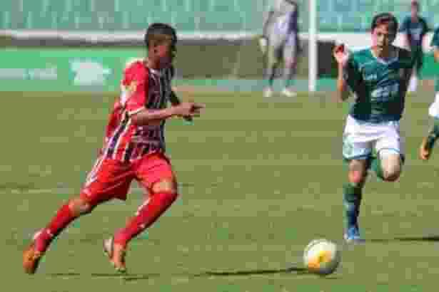 Igor Correia Lima, jogador das categorias de base do Botafogo-SP, morreu após ser atingido por um raio - Rogério Moroti/Agência Botafogo