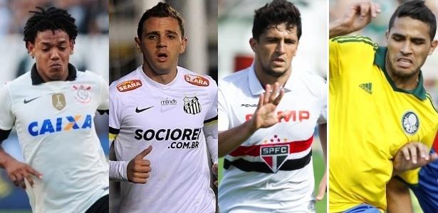 Junior Lago / UOL, Vinícius Costa/ Agência Preview, Santos FC/ Reinaldo Canato/UOL