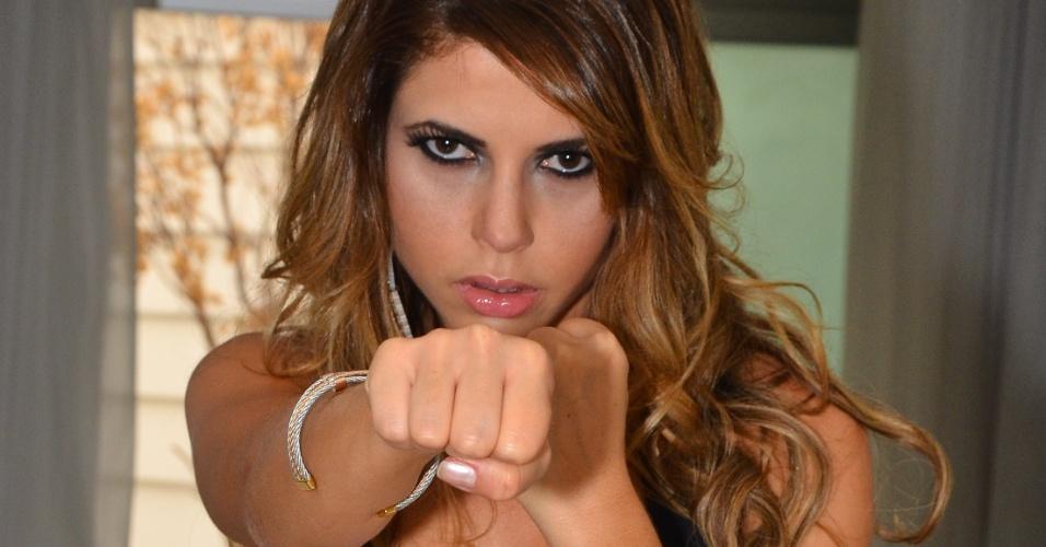 Ex-BBB Cacau Colucci será ring girl do Jungle Fight em São Paulo