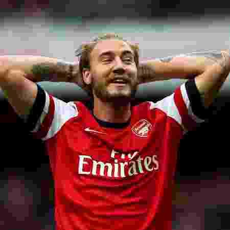 Atacante, hoje atuando no futebol local, lamentou não ter ido mais longe na carreira - Paul Gilham/Getty Images