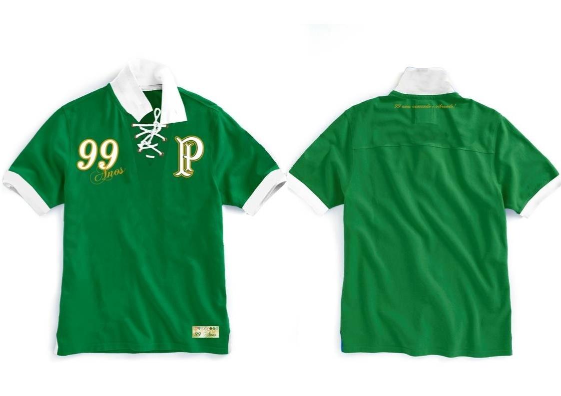 Palmeiras lança camisa retrô em homenagem aos seus 99 anos - 31 10 2013 -  UOL Esporte ad47da49abd49