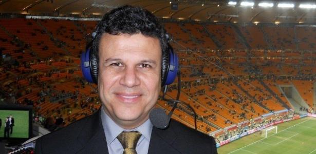 O narrador esportivo Téo José, da Band, que não transmitirá o Brasileirão 2016 - Arquivo Pessoal
