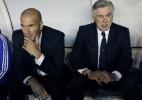 """""""Será um jogo entre mestre e aluno"""", diz Zidane sobre Ancelotti - EFE/Chema Moya"""
