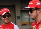 Massa ganha elogios de Galvão e leva indireta de Alonso