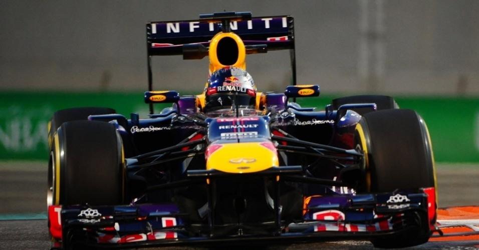 Vettel sobrou nos treinos livres. Cravou melhores voltas nas atividades livres de sexta e sábado