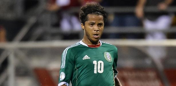 Giovani dos Santos, filho do brasileiro Zizinho, foi convocado para jogar a Copa no Brasil