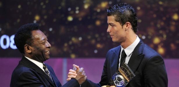 'Ele está a perpetuar gols de rara beleza', disse Pelé a jornal português