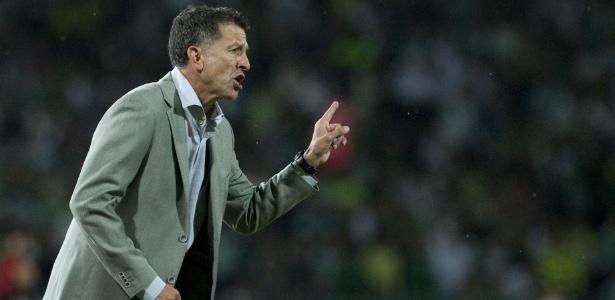 Juan Carlos Osório assumiu o Atlético Nacional em 2012 e conquistou a Colômbia - AFP PHOTO/Raul ARBOLEDA